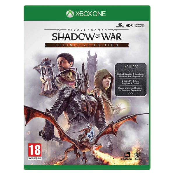Middle-Earth: Shadow of War (Definitive Edition) XBOX ONE
