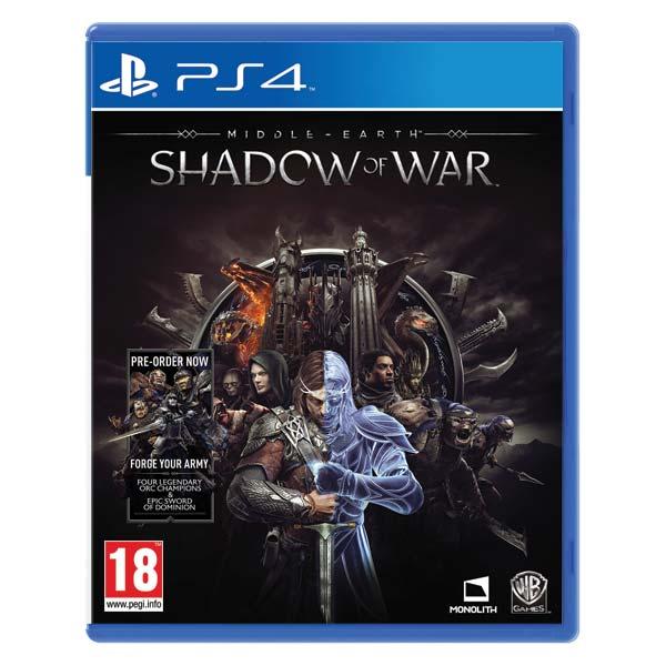 Middle-Earth: Shadow of War [PS4] - BAZÁR (použitý tovar)