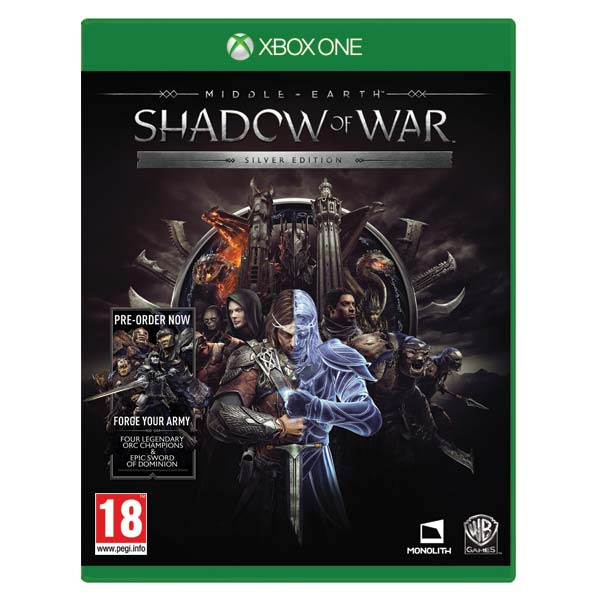 Middle-Earth: Shadow of War (Silver Edition) XBOX ONE