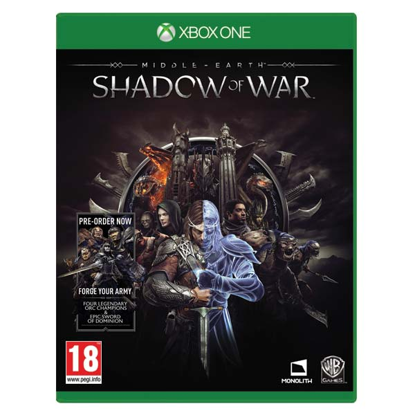 Middle-Earth: Shadow of War [XBOX ONE] - BAZÁR (použitý tovar)