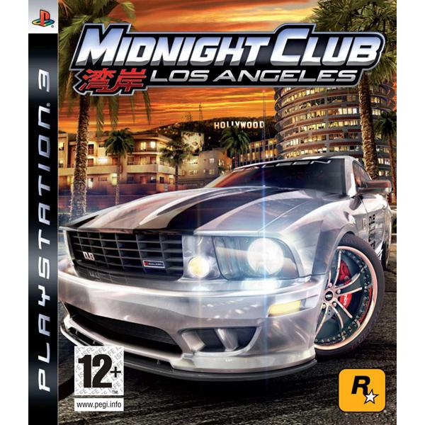 Midnight Club: Los Angeles [PS3] - BAZÁR (použitý tovar)