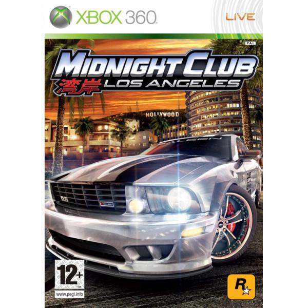 Midnight Club: Los Angeles [XBOX 360] - BAZÁR (použitý tovar)