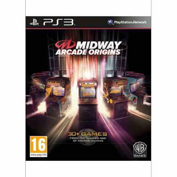 Midway Arcade Origins [PS3] - BAZÁR (použitý tovar)
