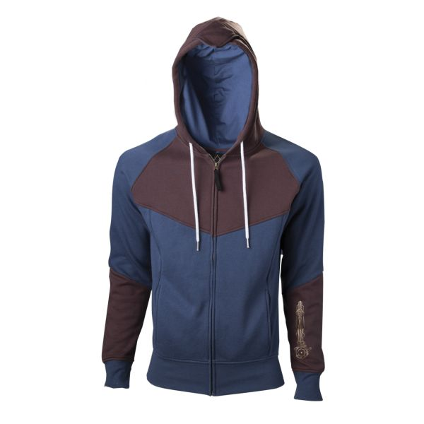 Mikina Assassin's Creed: Unity, blue/brown XXL