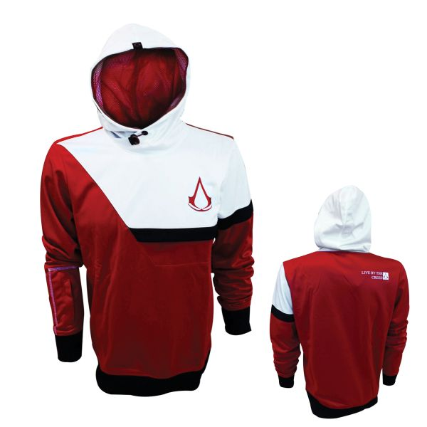 Mikina Assassin's Creed, white/red XL