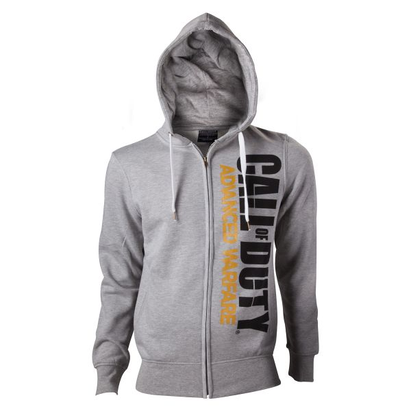 Mikina Call of Duty: Advanced Warfare Logo on Front, grey XXL