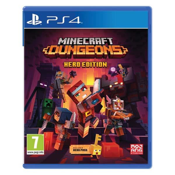 Minecraft Dungeons (Hero Edition) [PS4] - BAZÁR (použitý tovar)
