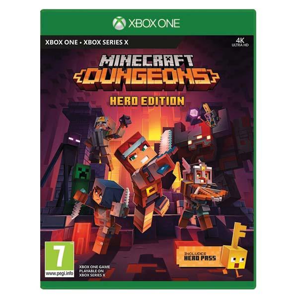Minecraft Dungeons (Hero Edition) [XBOX ONE] - BAZÁR (použitý tovar)