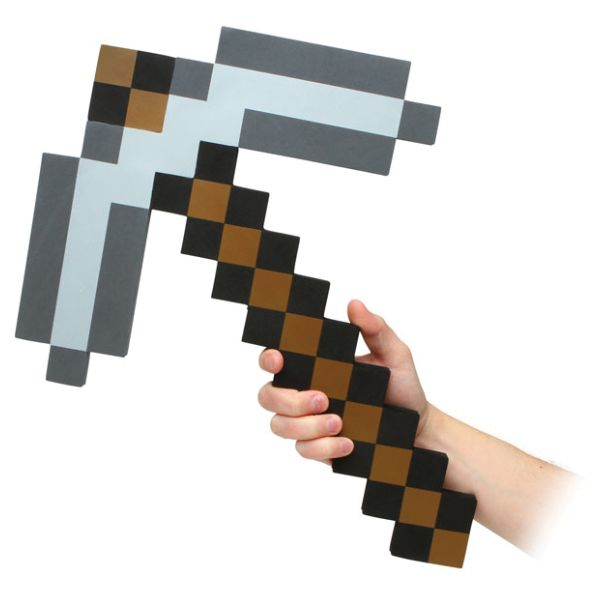 Minecraft Foam Pickaxe