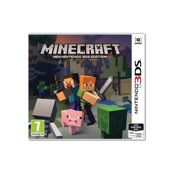 311e06408 Minecraft (New Nintendo 3DS Edition) - 3DS