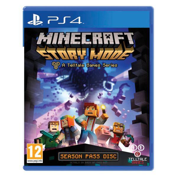 Minecraft: Story Mode [PS4] - BAZÁR (použitý tovar)