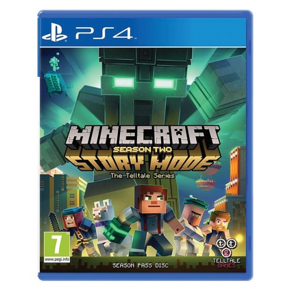 Minecraft Story Mode: Season Two [PS4] - BAZÁR (použitý tovar)