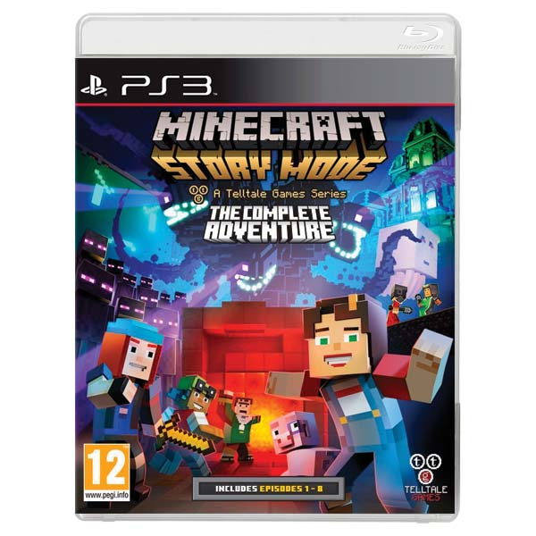 Minecraft: Story Mode (The Complete Adventure) PS3
