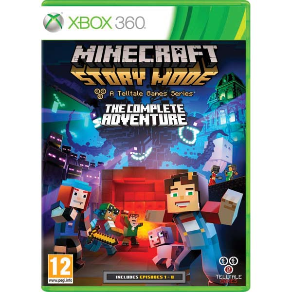 Minecraft: Story Mode (The Complete Adventure) XBOX 360