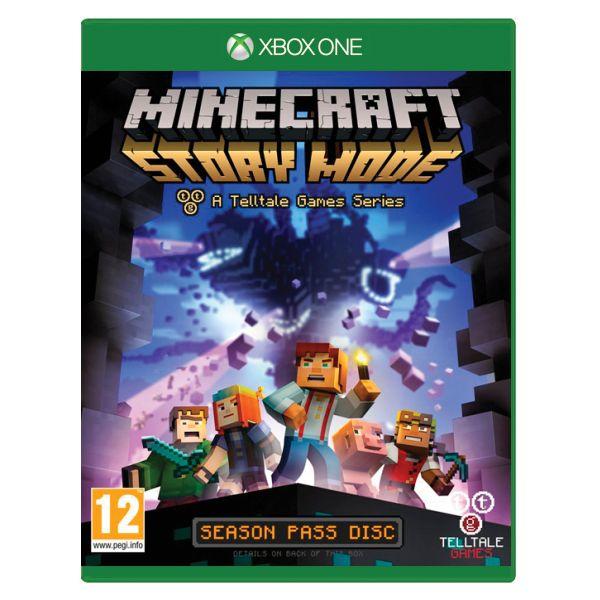 Minecraft: Story Mode [XBOX ONE] - BAZÁR (použitý tovar)