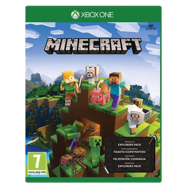 Minecraft (Xbox One Edition Explorers Pack)