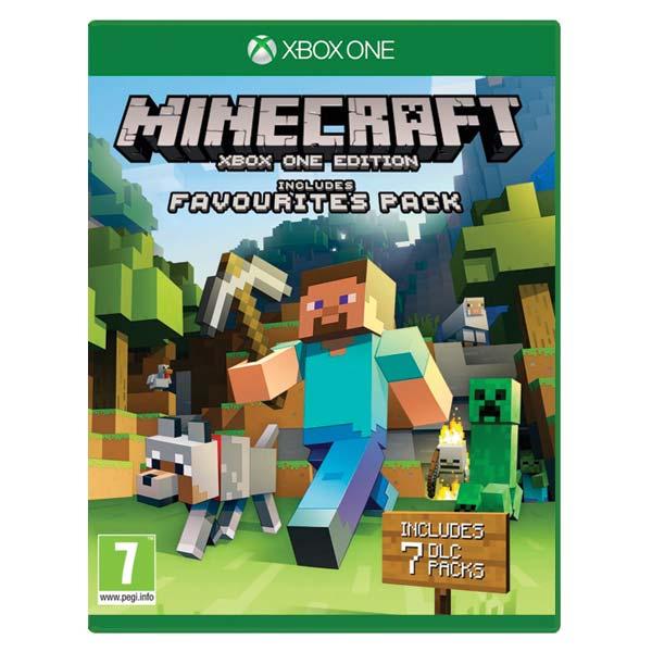Minecraft (Xbox One Edition Favorites Pack) [XBOX ONE] - BAZÁR (použitý tovar)