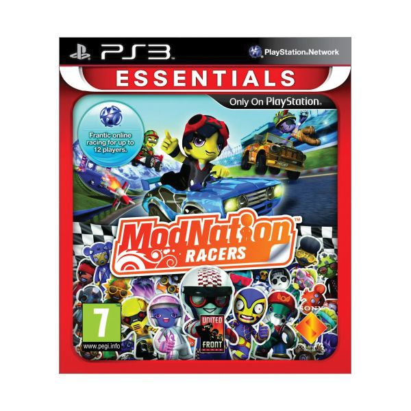 ModNation Racers [PS3] - BAZÁR (použitý tovar)