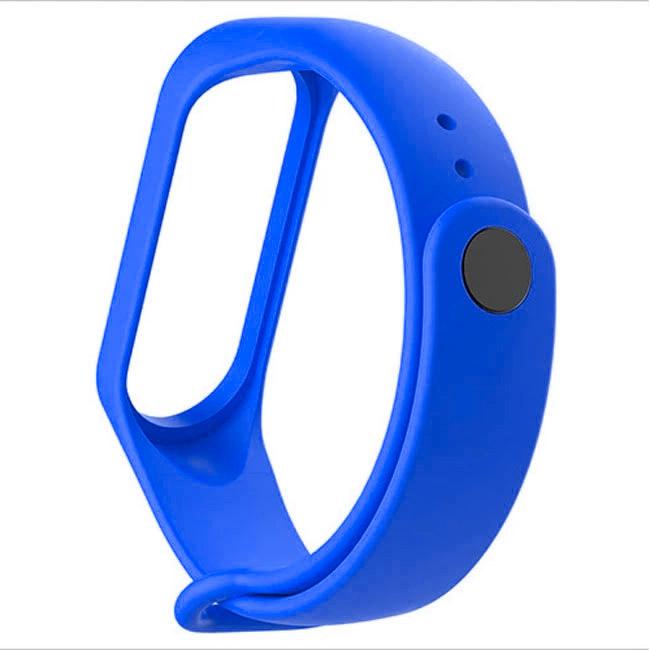 Modrý náramok pre Xiaomi MiBand 3 a 4