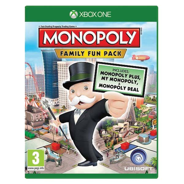Monopoly: Family Fun Pack XBOX ONE