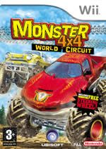 Monster 4x4 World Circuit + volant