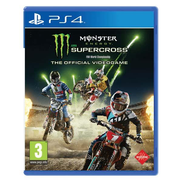 Monster Energy: Supercross [PS4] - BAZÁR (použitý tovar)