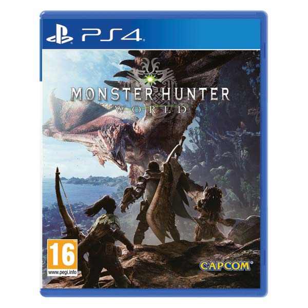 Monster Hunter World [PS4] - BAZÁR (použitý tovar)