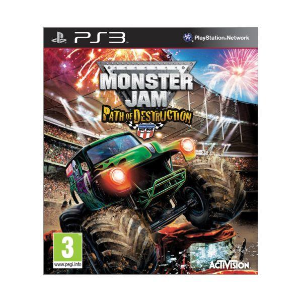 Monster Jam: Path of Destruction [PS3] - BAZÁR (použitý tovar)