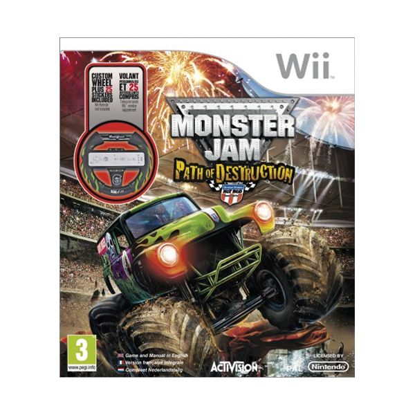 Monster Jam: Path of Destruction + volant