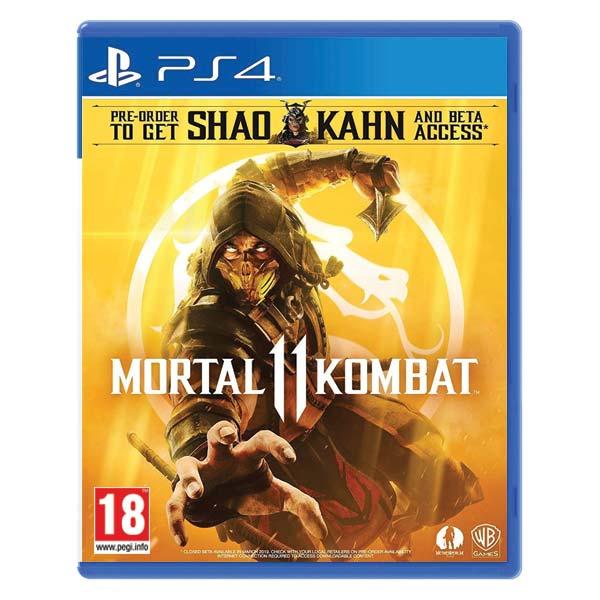 Mortal Kombat 11 [PS4] - BAZÁR (použitý tovar)