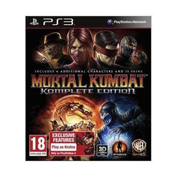 Mortal Kombat (Komplete Edition)-PS3 - BAZÁR (použitý tovar)