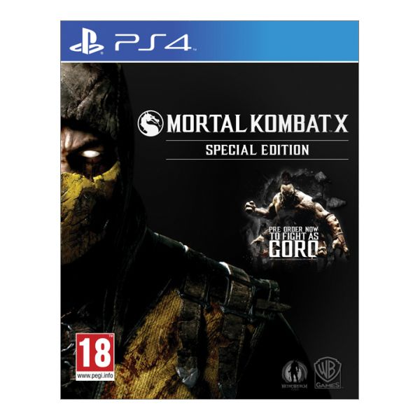 Mortal Kombat X (Special Edition) [PS4] - BAZÁR (použitý tovar)