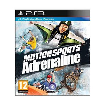 MotionSports Adrenaline [PS3] - BAZÁR (použitý tovar)