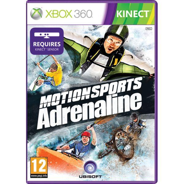 MotionSports Adrenaline [XBOX 360] - BAZÁR (použitý tovar)