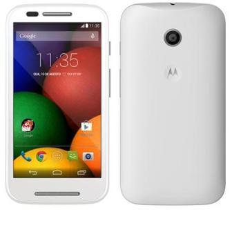 Motorola Moto E, 4GB | White, Trieda C - použité, záruka 12 mesiacov