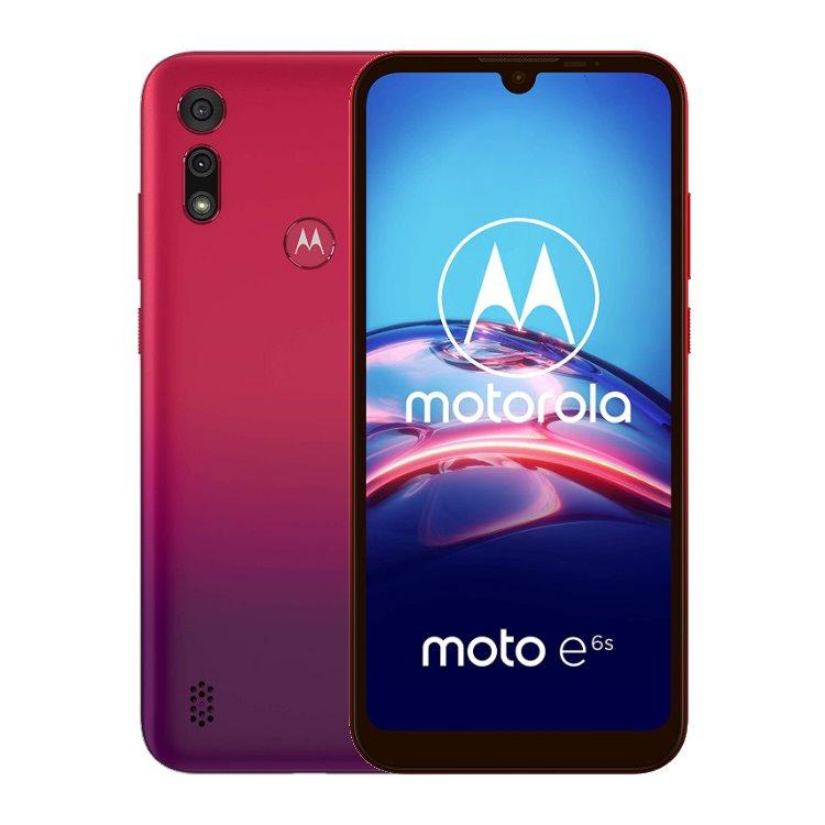 Motorola Moto E6s, 4/64GB, Dual SIM, Sunrise Red - SK distribúcia