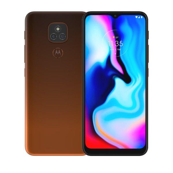 Motorola Moto E7 Plus, 4/64GB, Dual SIM, twilight orange