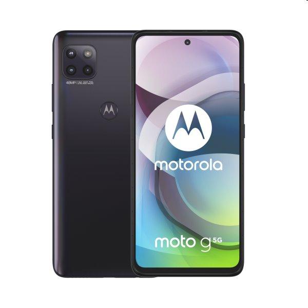 Motorola Moto G 5G, 6/128GB, Dual SIM, volcanic grey - SK distribúcia PALM0008PL