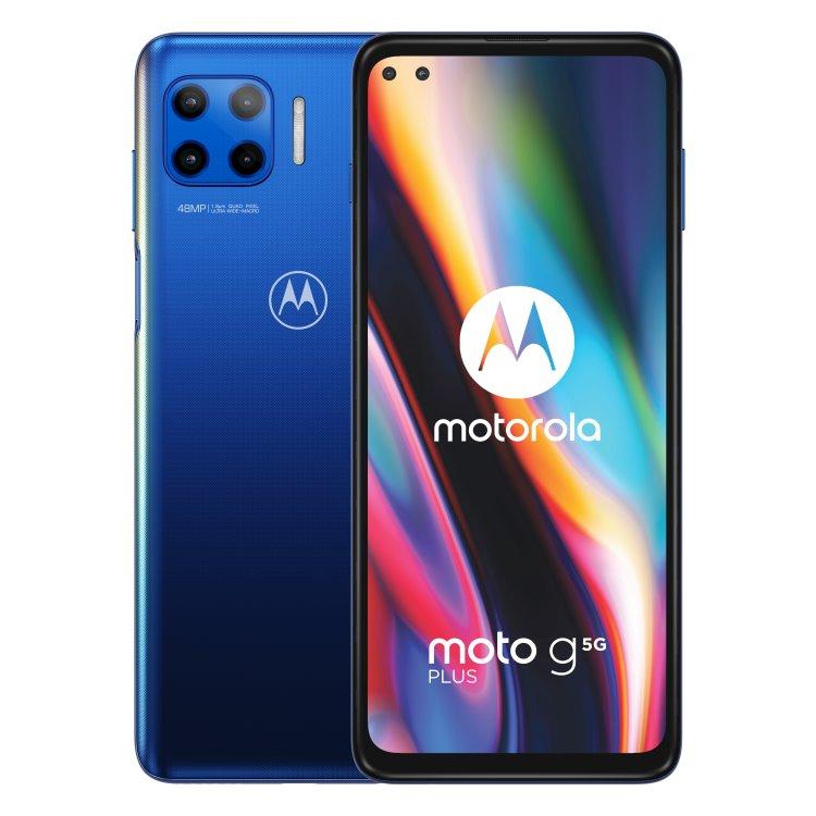 Motorola Moto G 5G Plus, 6/128GB, Dual SIM, Surfing Blue PAK90007PL