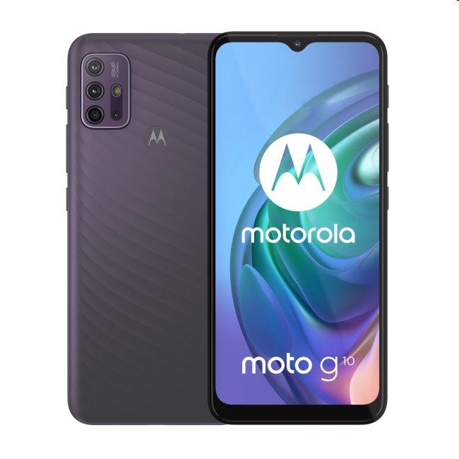 Motorola Moto G10, 4/64GB, Aurora Gray - SK distribúcia