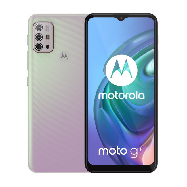 Motorola Moto G10, 4/64GB, iridescent pearl