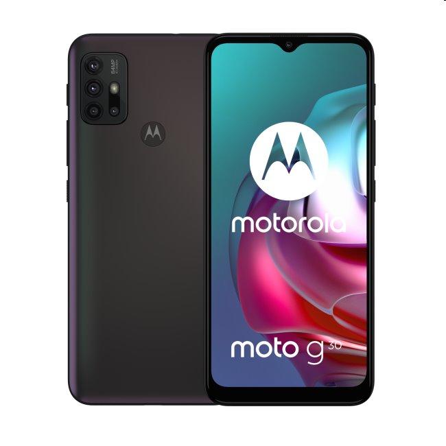 Motorola Moto G30, 6/128GB, Phantom Black - SK distribúcia
