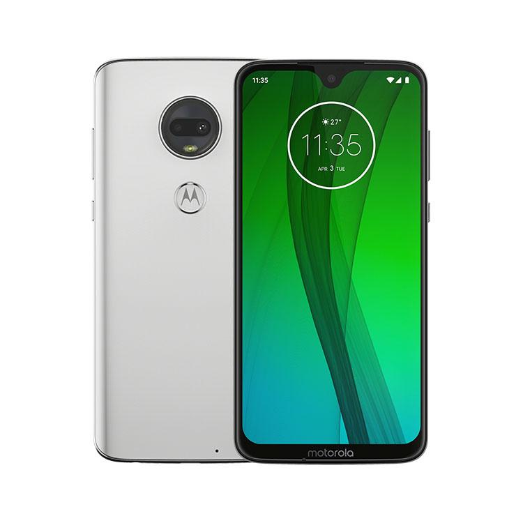 Motorola Moto G7, Dual SIM, Clear White - SK distribúcia PADY0018RO