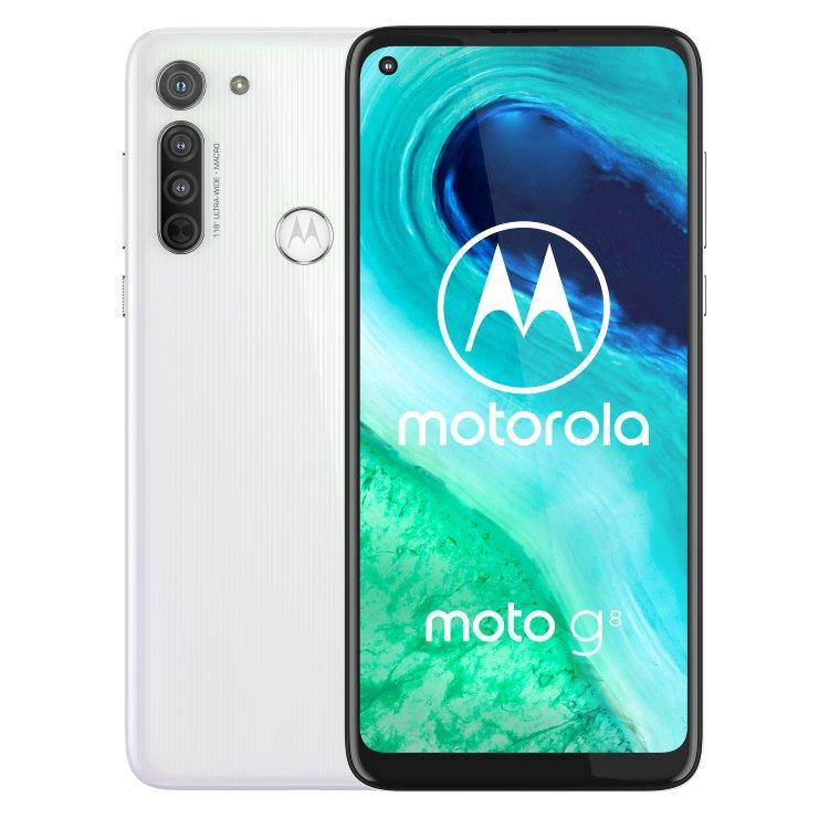Motorola Moto G8 Power Lite 4GB/64GB Dual SIM , white