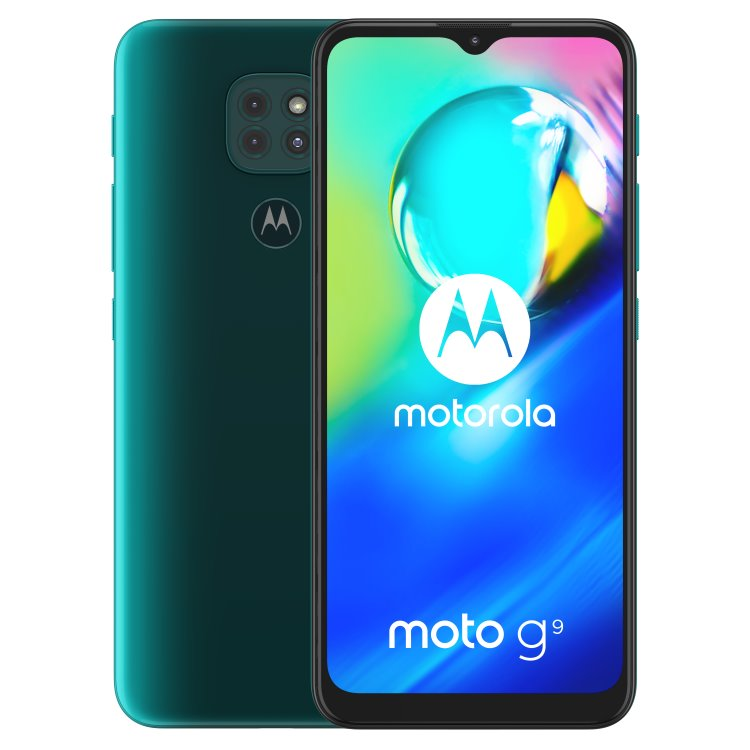 Motorola Moto G9 Play, 4/64GB, Dual SIM, Forest Green - SK distribúcia