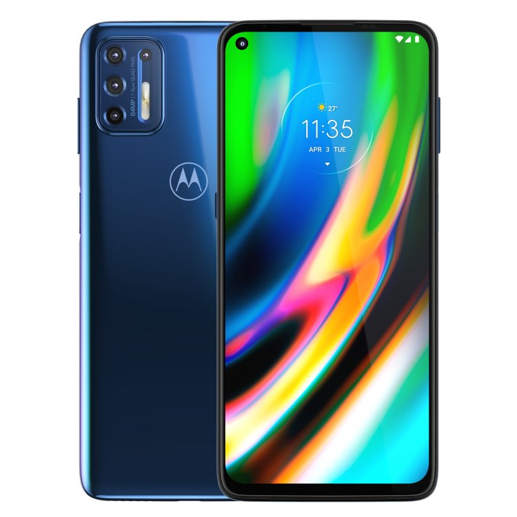 Motorola Moto G9 Plus, 4/128GB, Dual SIM, Deep Dive - SK distribúcia