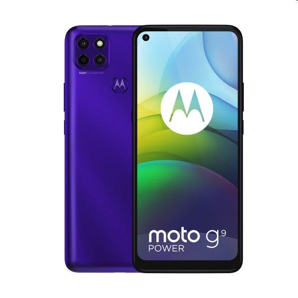 Motorola Moto G9 Power, Dual SIM, electric violet - SK distribúcia PALR0022PL