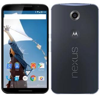 Motorola Nexus 6, 64GB   Blue, Trieda A - použité, záruka 12 mesiacov
