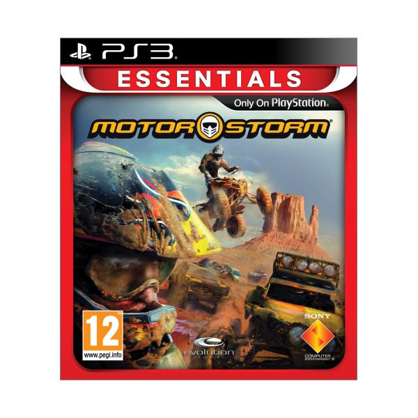 MotorStorm-PS3 - BAZÁR (použitý tovar)