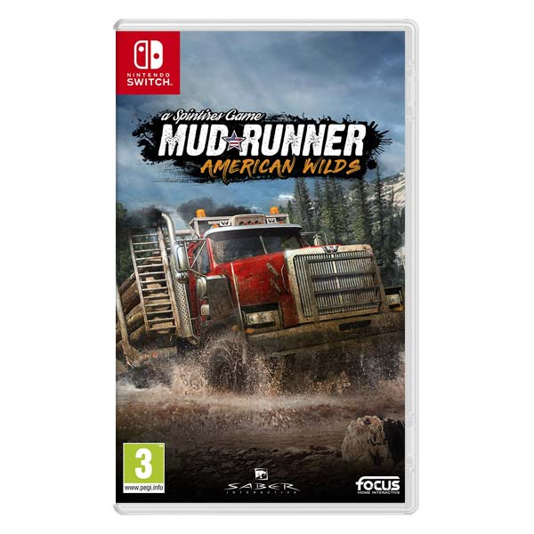 MudRunner: a Spintires Game (American Wilds Edition)